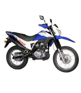 Moto Kenton DAKAR 200