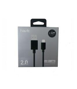 Cable USB Tipo C Havit HV-CB710 2.0A