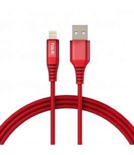 Cable Lightning Havit HV-H60 Trenzado Rojo