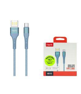 Cable USB Tipo C Havit Trenzado H6113 2.1A