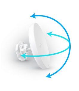 Wi-Fi 5 EnGenius Punto de acceso exterior de largo alcance / Puente inalámbrico