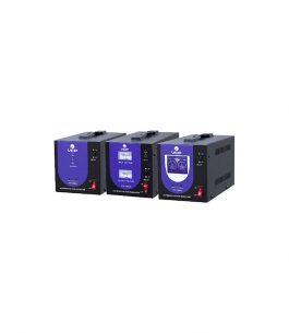 Estabilizador de tensión LED VCP 1000VA con 2 Tomas tipo Nema