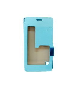 Funda para Celular Flip Cover Celeste Lumia 720