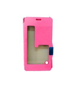 Funda para Celular Flip Cover Rosa Lumia 720